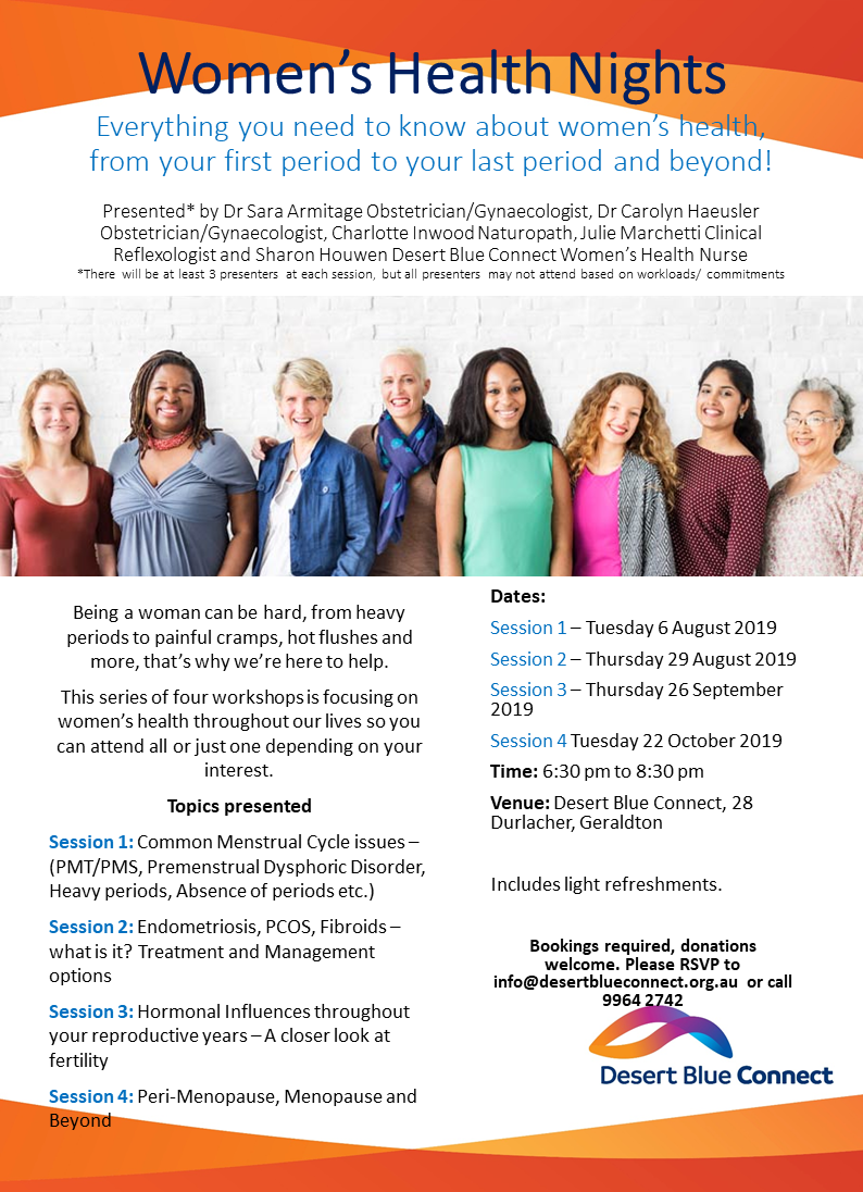Women's health information nights flyer.png