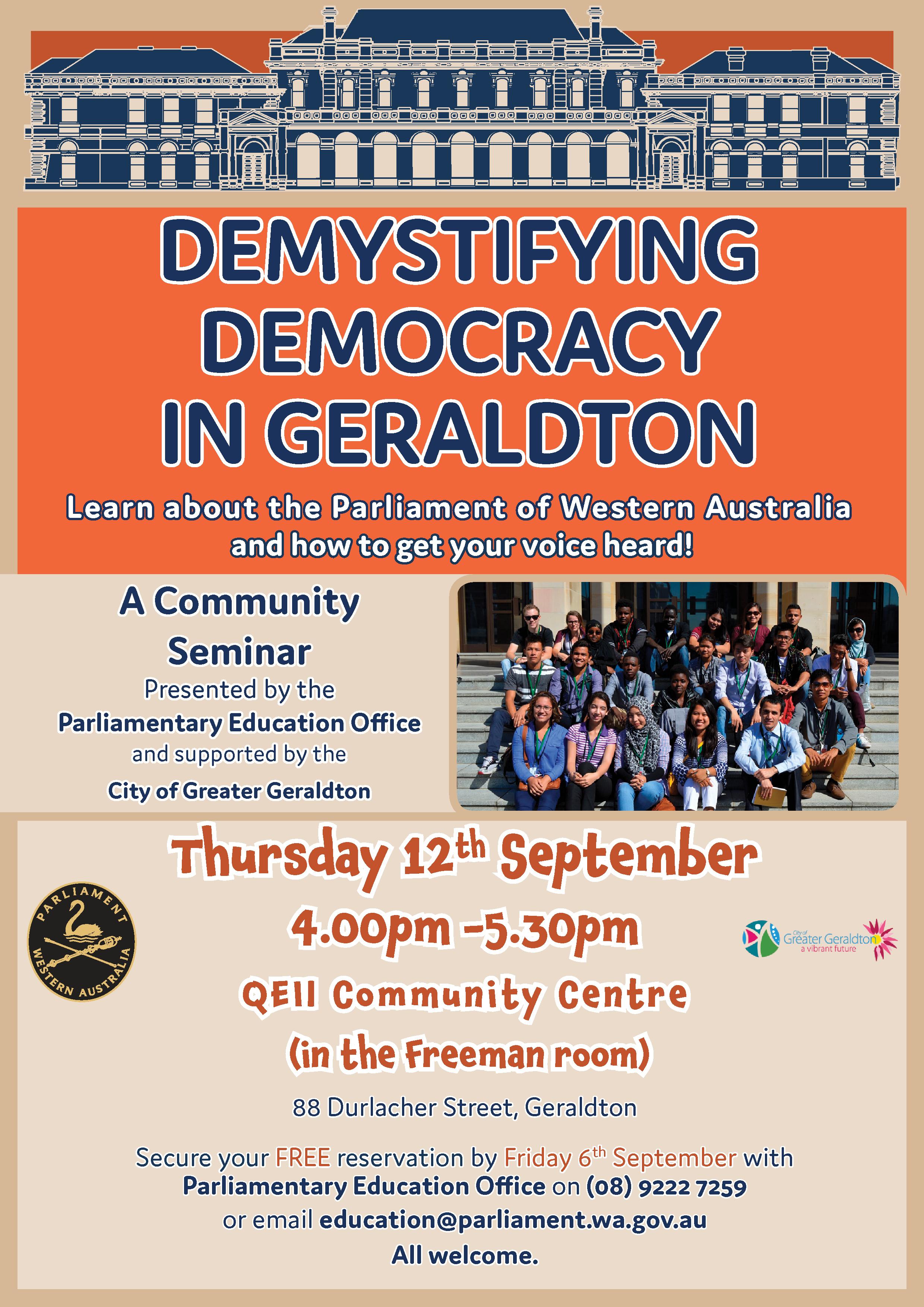 Demystifying Democracy - Geraldton Community Poster (003).jpg