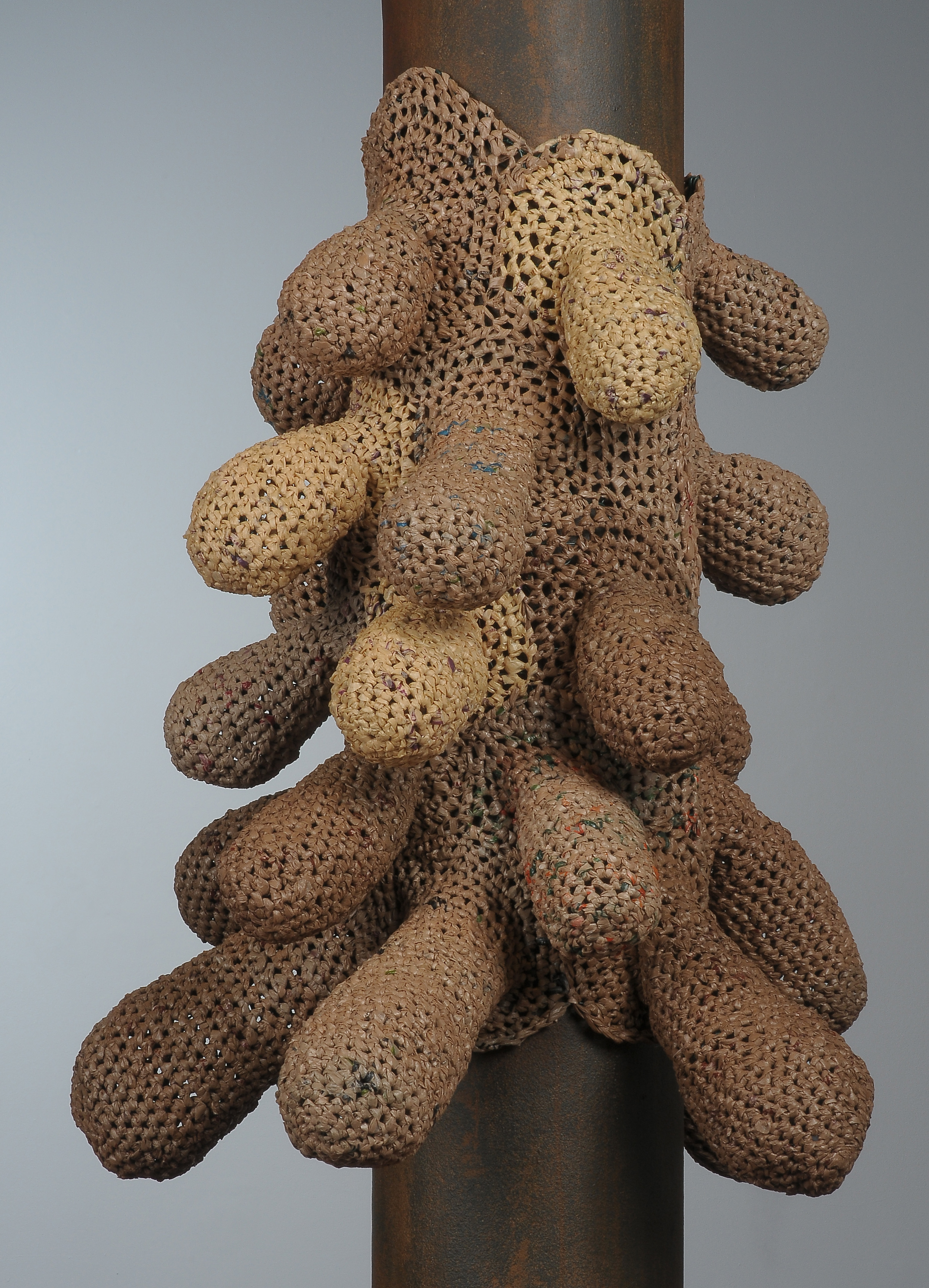 """""""Breasts/Nests"""" finished piece"""