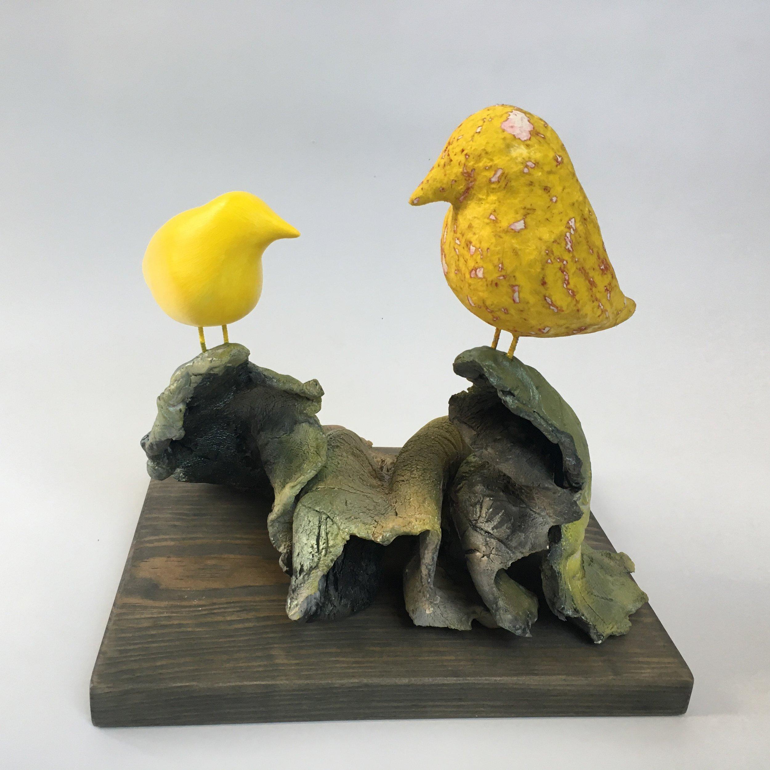 "Andy Moerlein, ""Sunrise Attraction (Yellow Green)"""