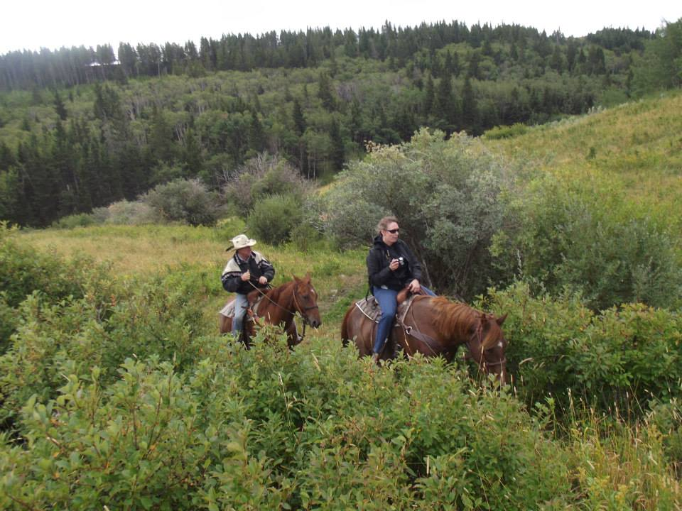 Scott Reesor trail ride at Reesor Ranch