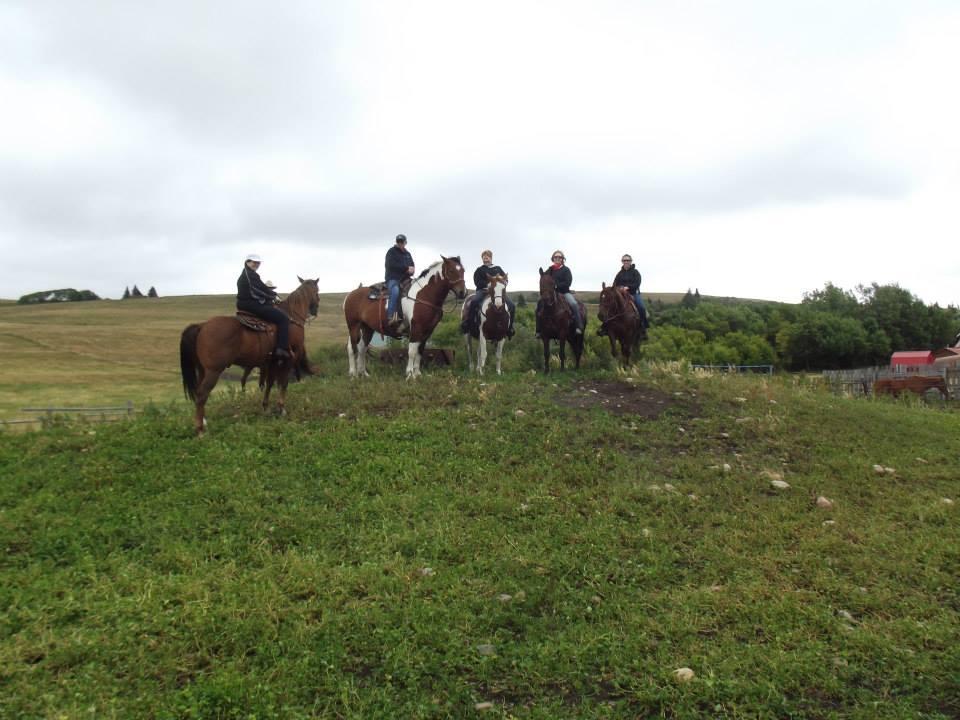 Trail Ride at Reesor Ranch