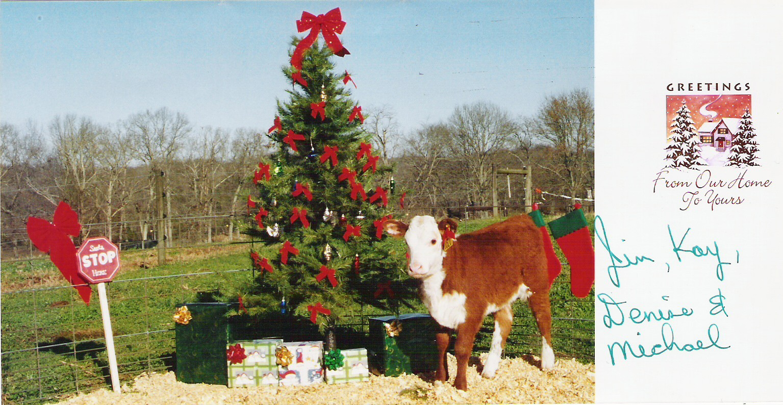 Coley Christmas card 2003