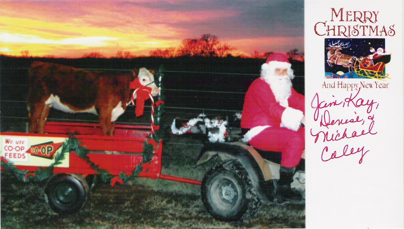 Coley Christmas card 2004