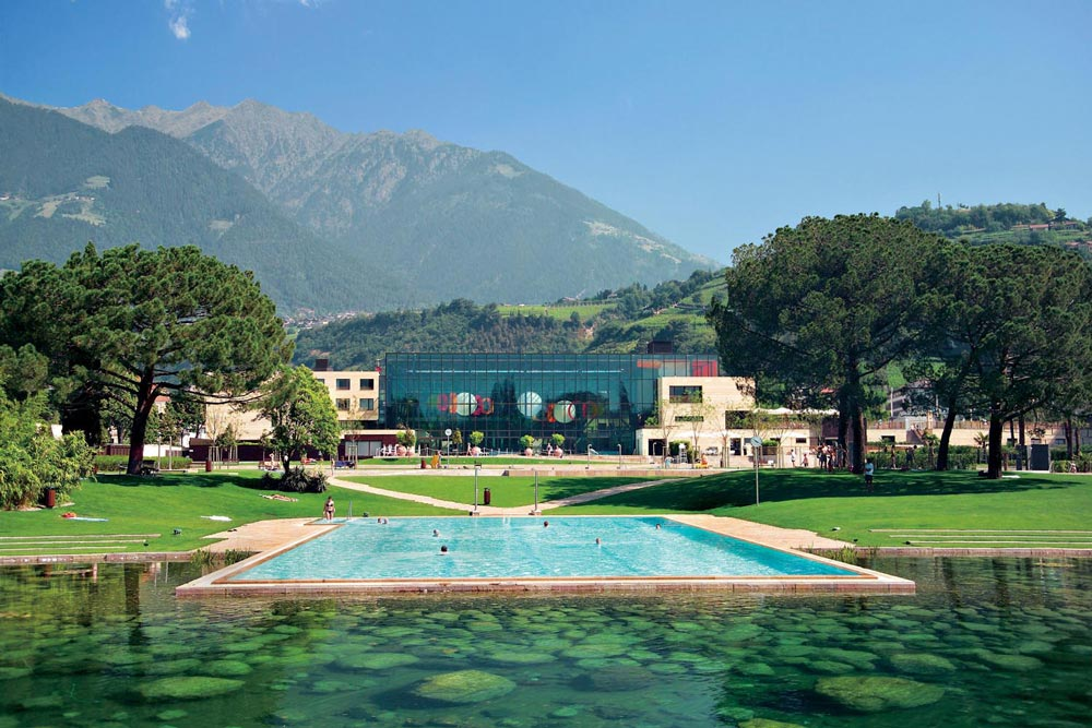 Therme Meran, Aussenpool