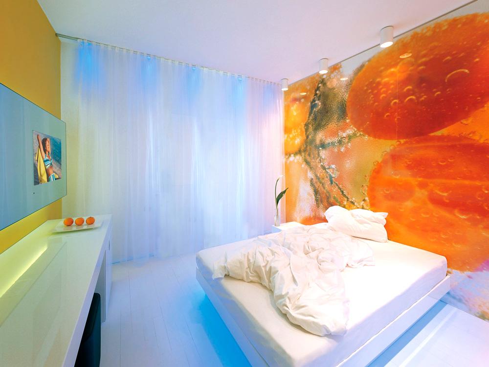 Einzelzimmer in Meran im Boutique-Hotel Aurora