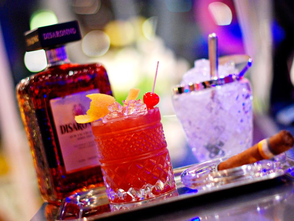 Cocktail in der Cocktailbar Sketch in Meran