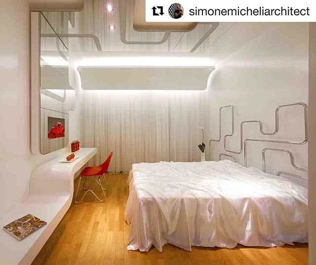 The future is now! Come and stay with us in room 36 📌 Hotelroom Design by Simone Micheli @simonemicheliarchitect 📷Jürgen Eheim  #thefutureisnow #interiordesign #interior #design #interiordesigner #architecture #hotel #leisure #holiday #vacation #business #room #hotelroom #hotelgoals #lifestyle #lifestyleblogger