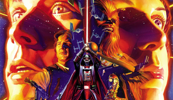 Cover detail from  Star Wars  #1, art by Alex Ross. Lucasfilm/Dark Horse Comics.