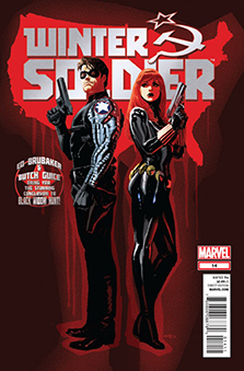 Cover to Winter Soldier #14, art by Daniel Acuna. Marvel Comics.