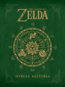 The cover to The Legend of Zelda: Hyrule Historia, published by Dark Horse Comics.