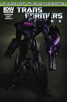 Variant cover for  Transformers: Prime  #4, art by High Moon Studios. Hasbro/IDW Publishing.
