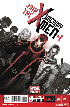Cover to Uncanny X-Men #1, art by Chris Bachalo. Marvel Comics.