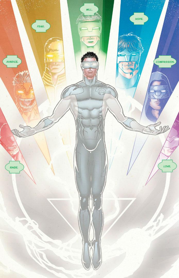 Panel detail from  Green Lantern: New Guardians  #16, art by Aaron Kuder. DC Comics.