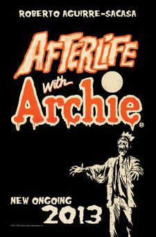 Afterlife With Archie  promo art, Archie Comics.