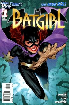 Cover to  Batgirl  #1, art by Adam Hughes. DC Comics.