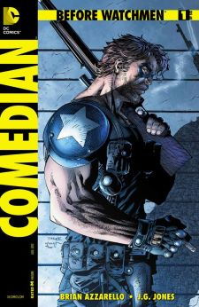 Cover to  Before Watchmen: Comedian , art by Jim Lee. DC Comics.