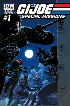 Variant cover to  G.I. Joe Special Mission s #1, art by Paul Gulacy. Hasbro/IDW Publishing.