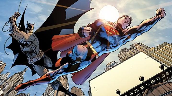 Brothers?!?! Art by Jim Lee. DC Comics.