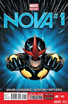 Cover for  Nova  #1, art by Ed MCGuiness. Marvel Comics.
