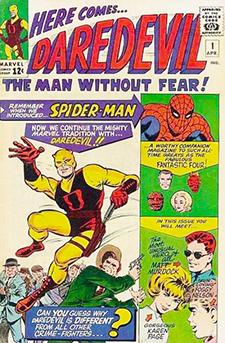 Cover for  Daredevil  #1. Marvel Comics.