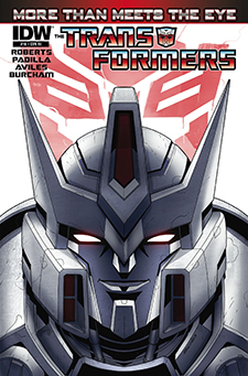 Variant cover for Transformers: More Than Meets the Eye #16. Hasbro/IDW.