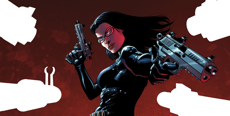 Variant over detail to  G.I. Joe Special Missions  #3, art by Paul Gulacy. Hasbro/IDW.