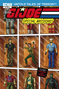Variant cover to  G.I. Joe Special Missions  #3. Hasbro/IDW.