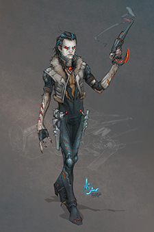 Lobo redesign by Kenneth Rocafort