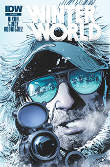 Cover for  Winterworld  #1, art by Butch Guice.