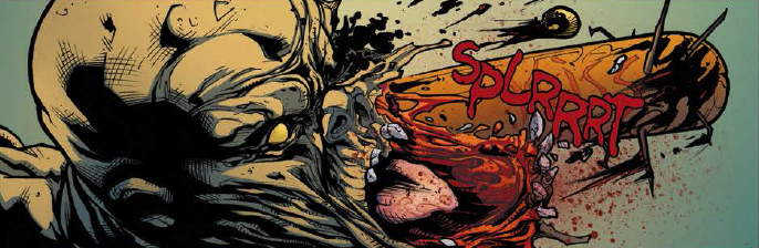 Panel detail from  Hack/Slash: Son of Samhain  #1. Art by Emilio Lasio. Tim Seeley/Image Comics