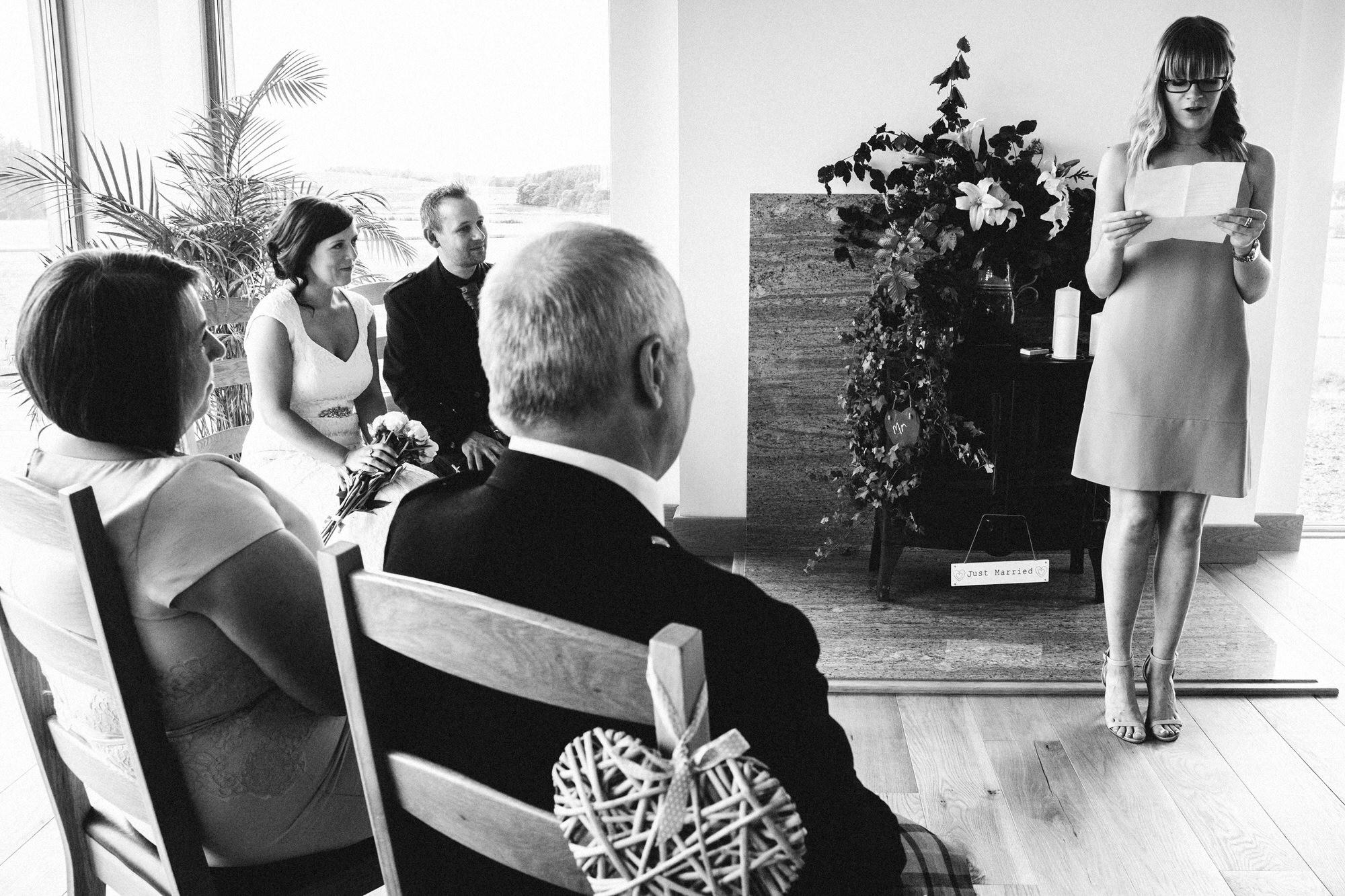 Ceremony reading