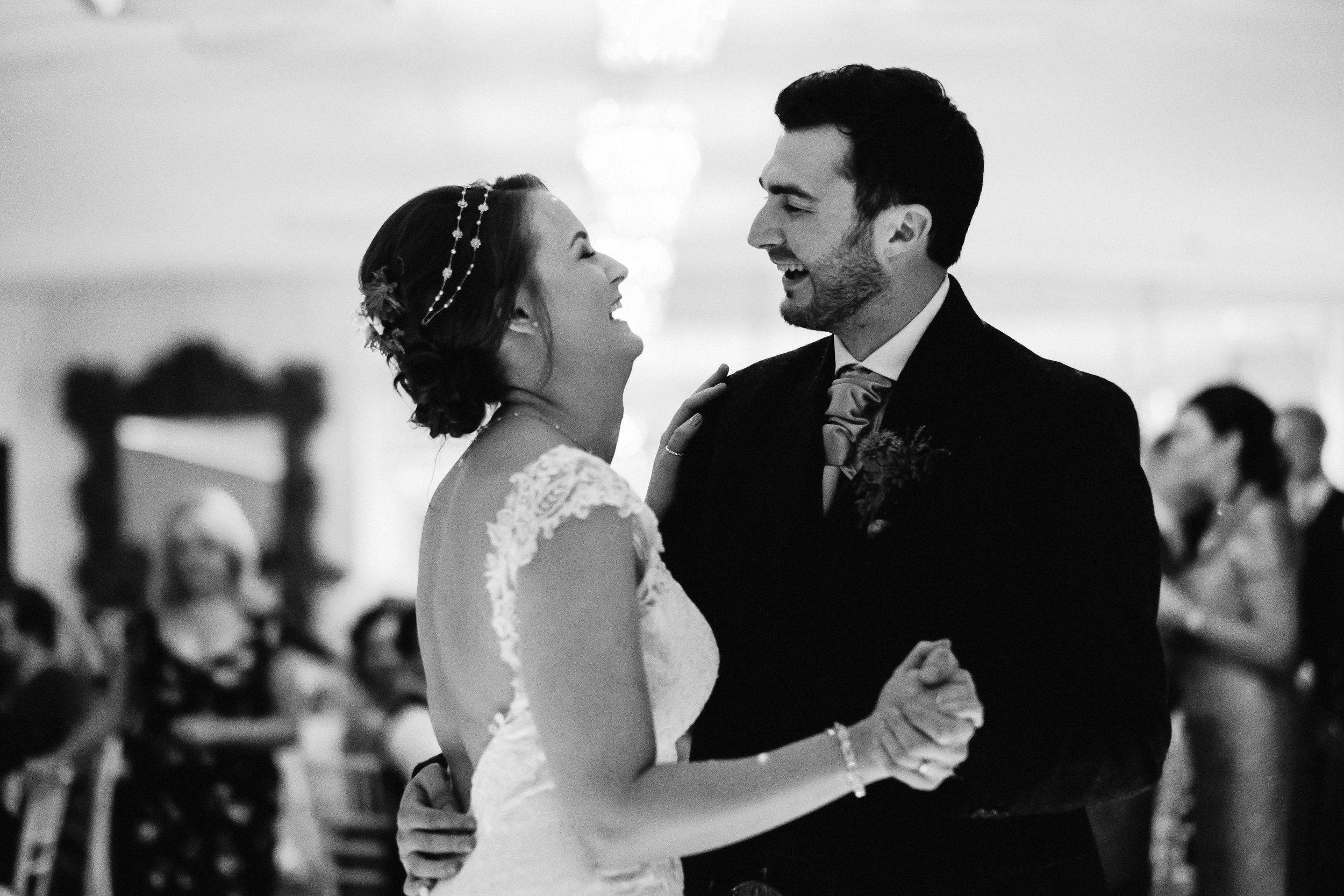 First dance of bride and groom