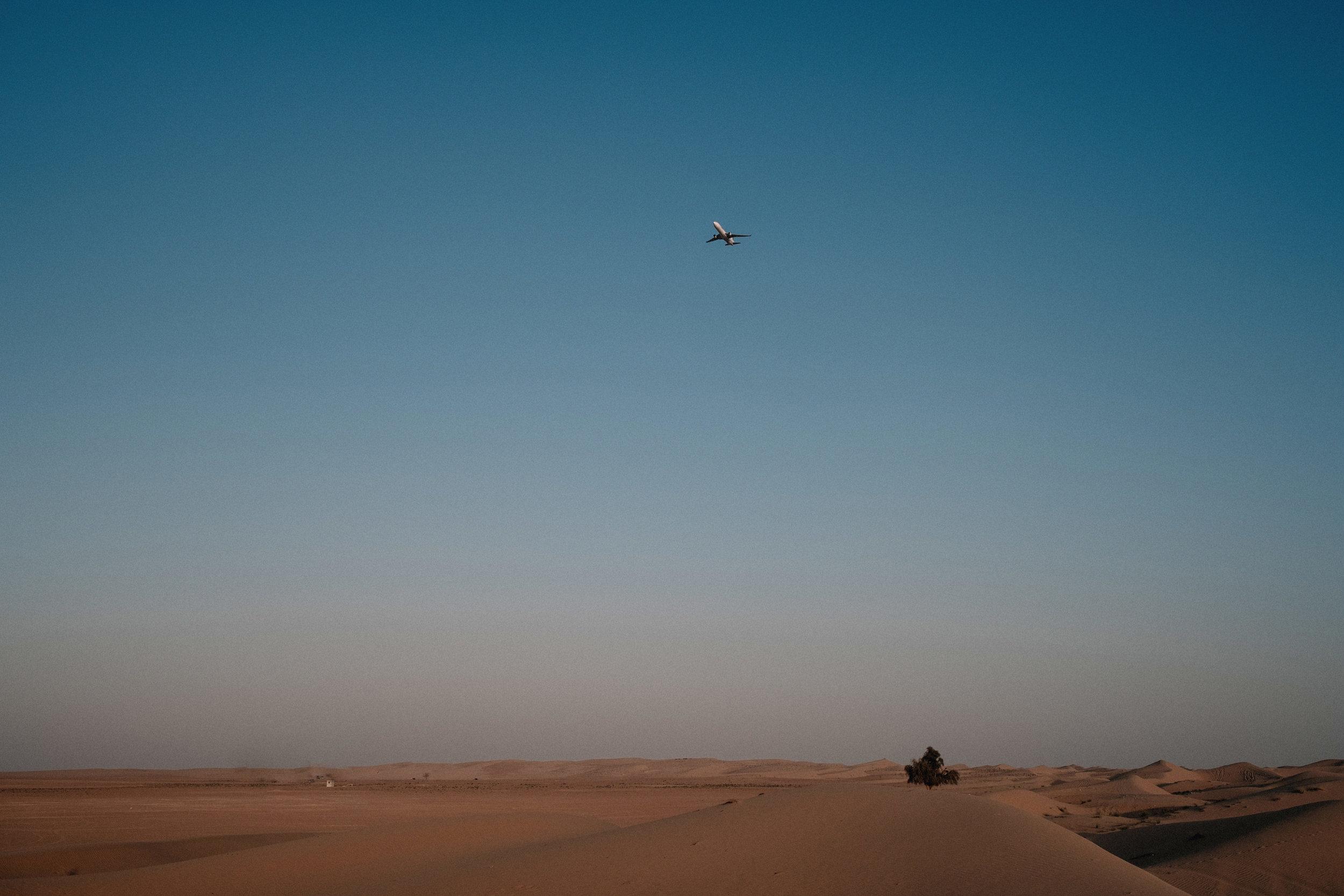 Plan taking off