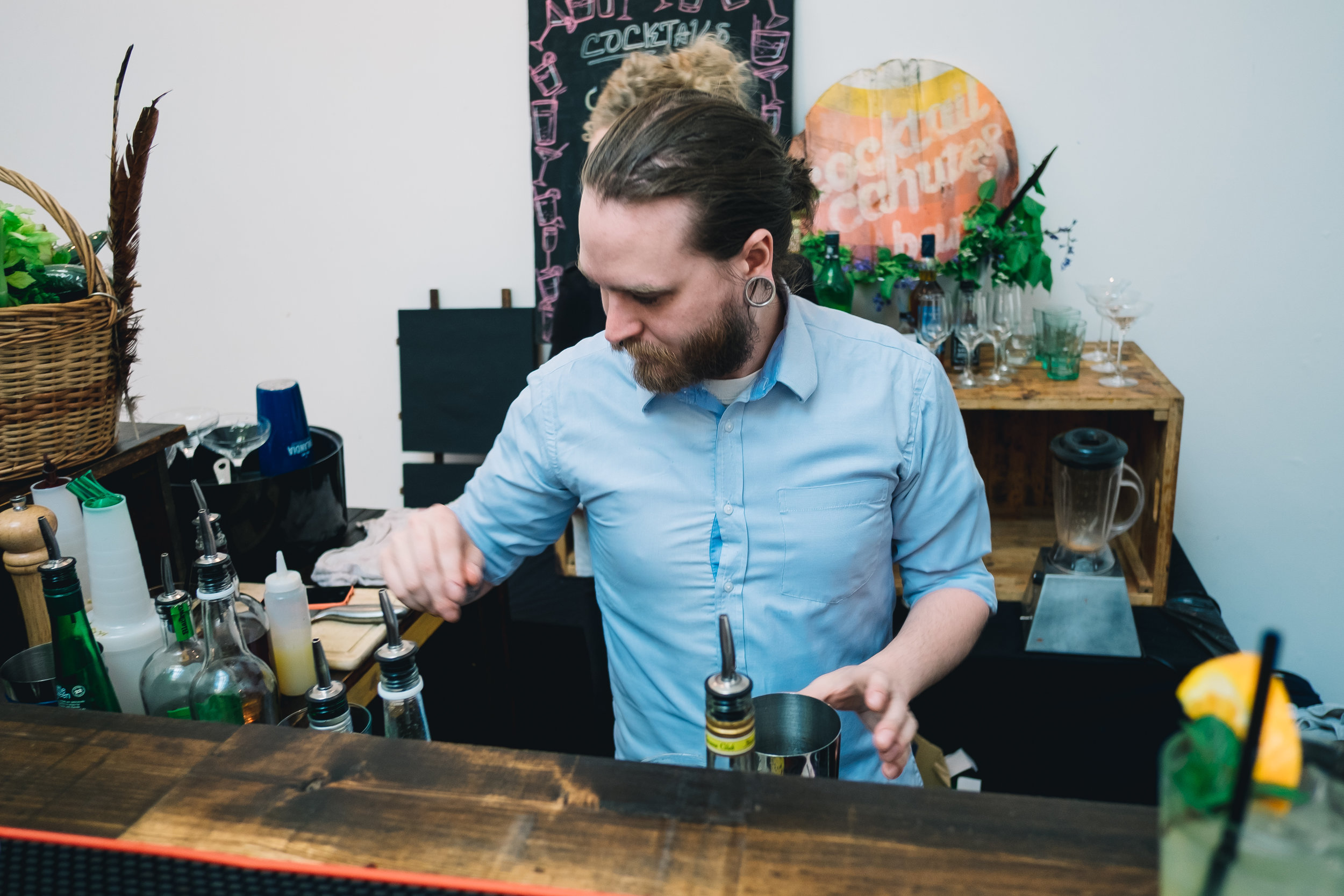 Cocktail Cahutes, pop up bar