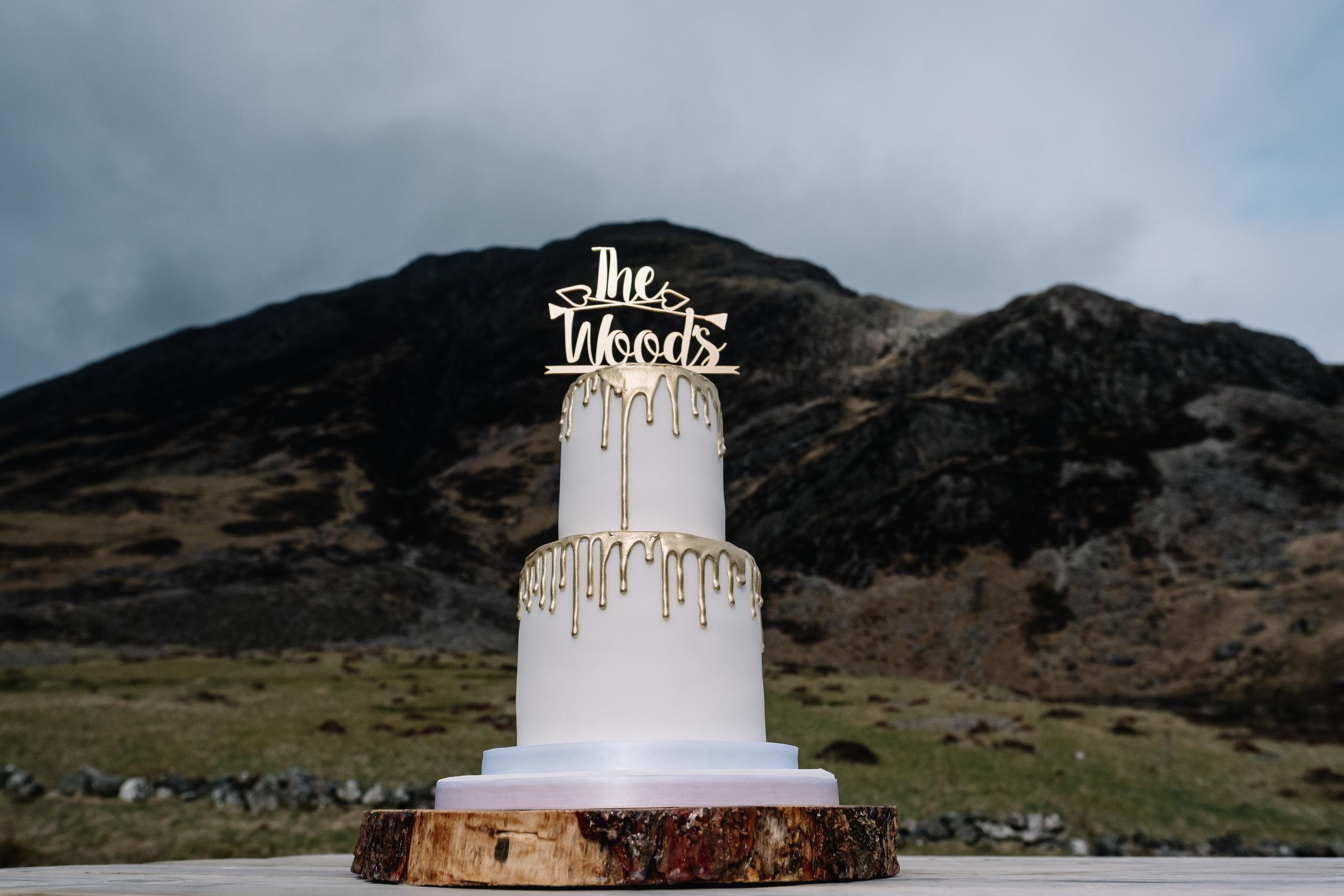 Venue: Glencoe | Cake:  Emmazing Creations