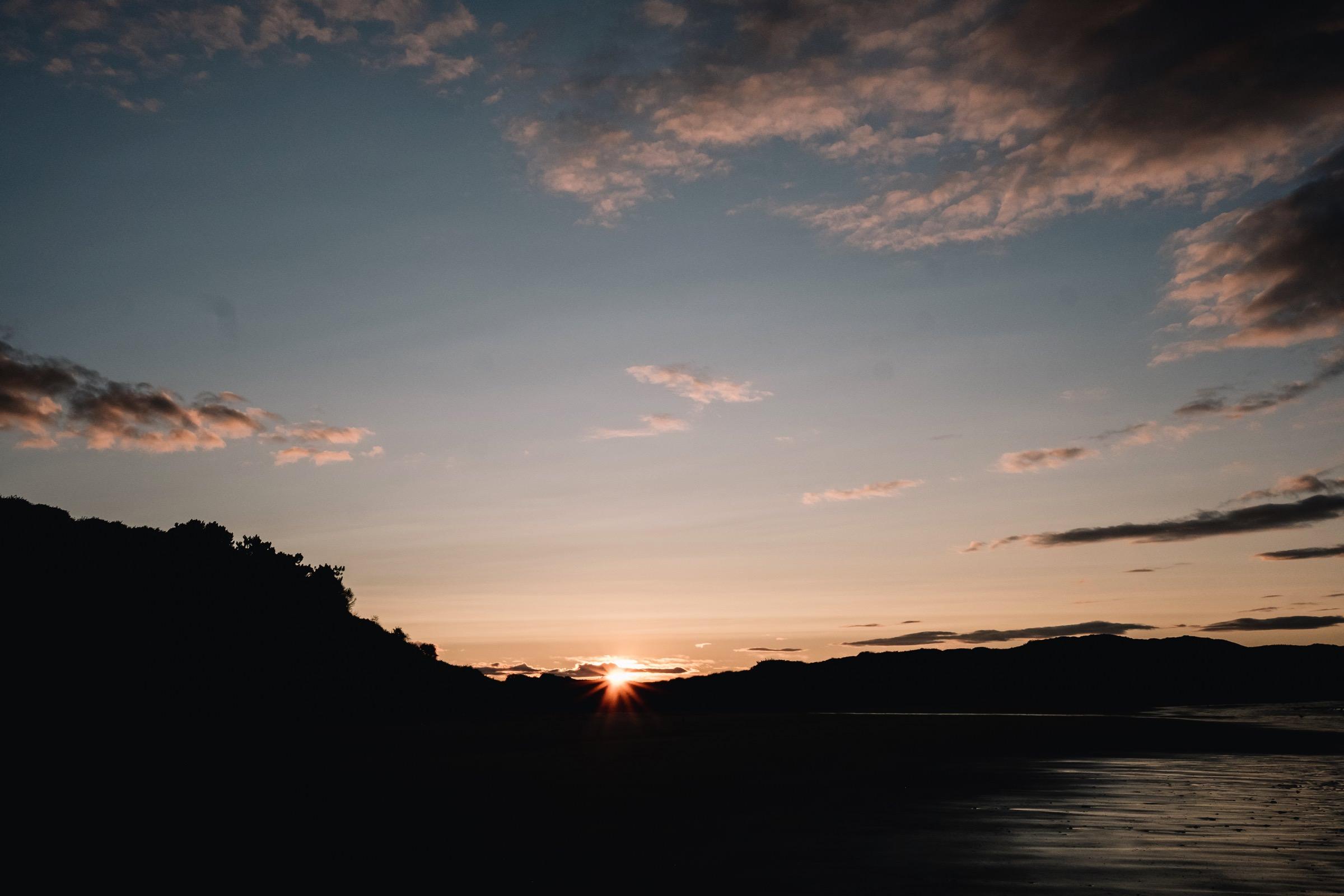 Sunset, Dunbar.