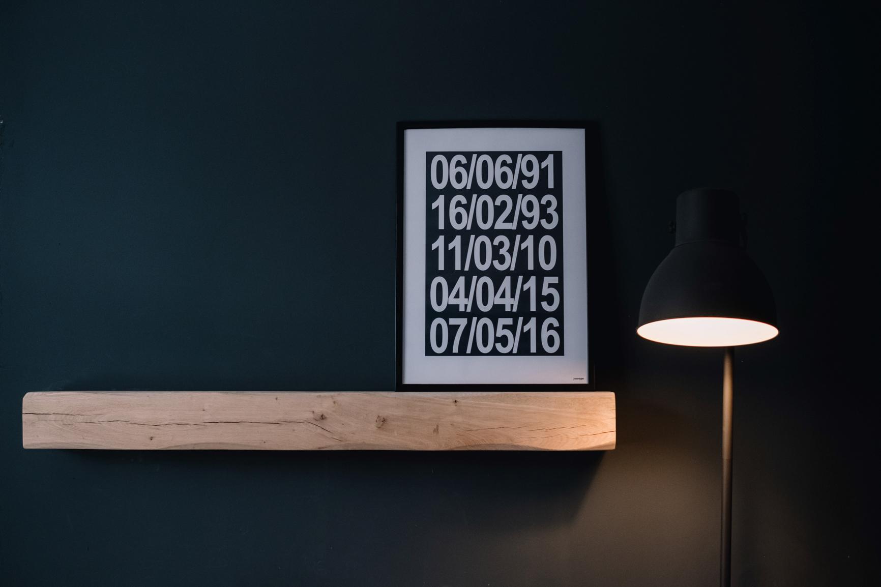 Simple design in lounge.