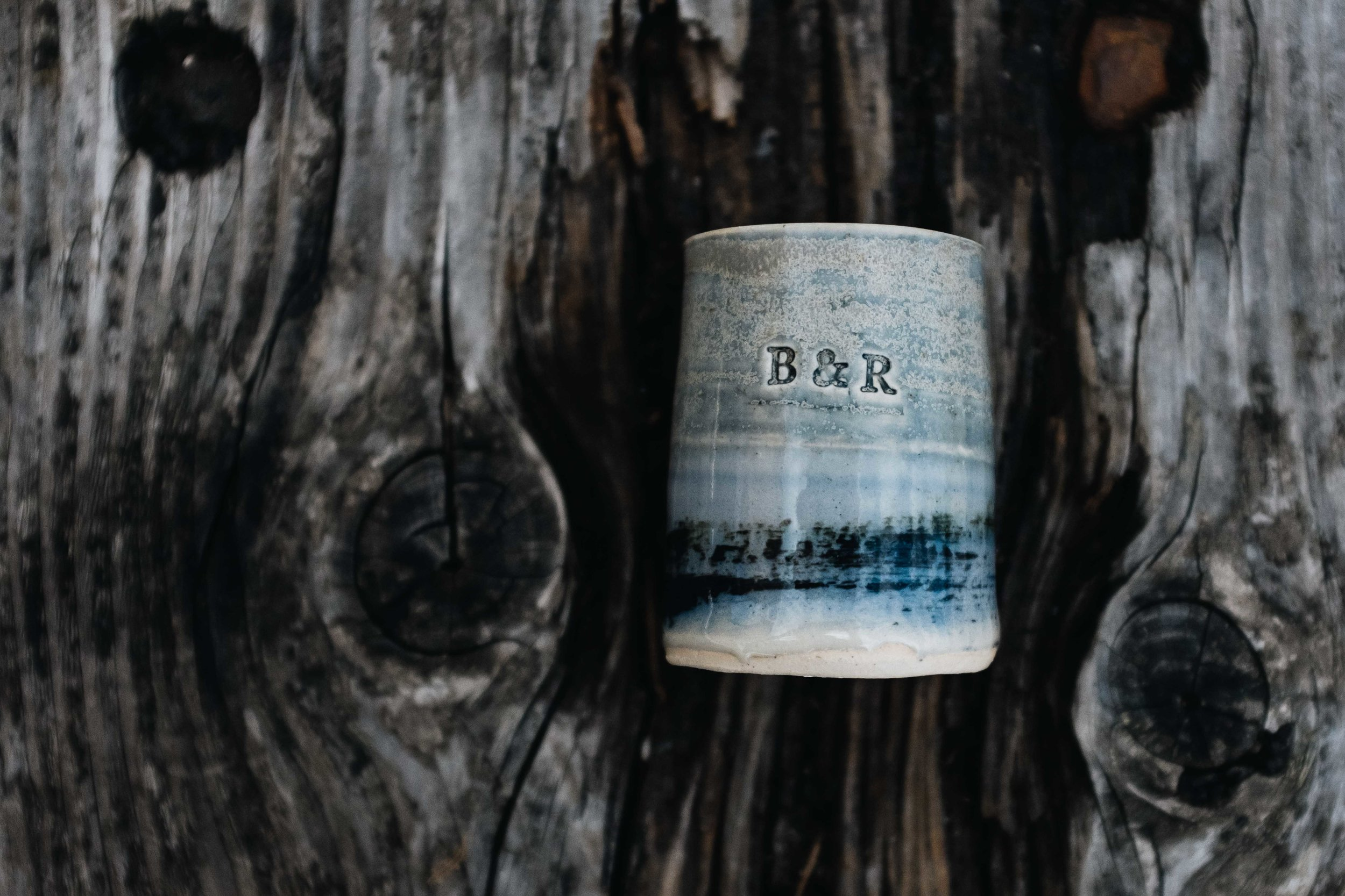 Personalised favour by  Sea Drift Pottery