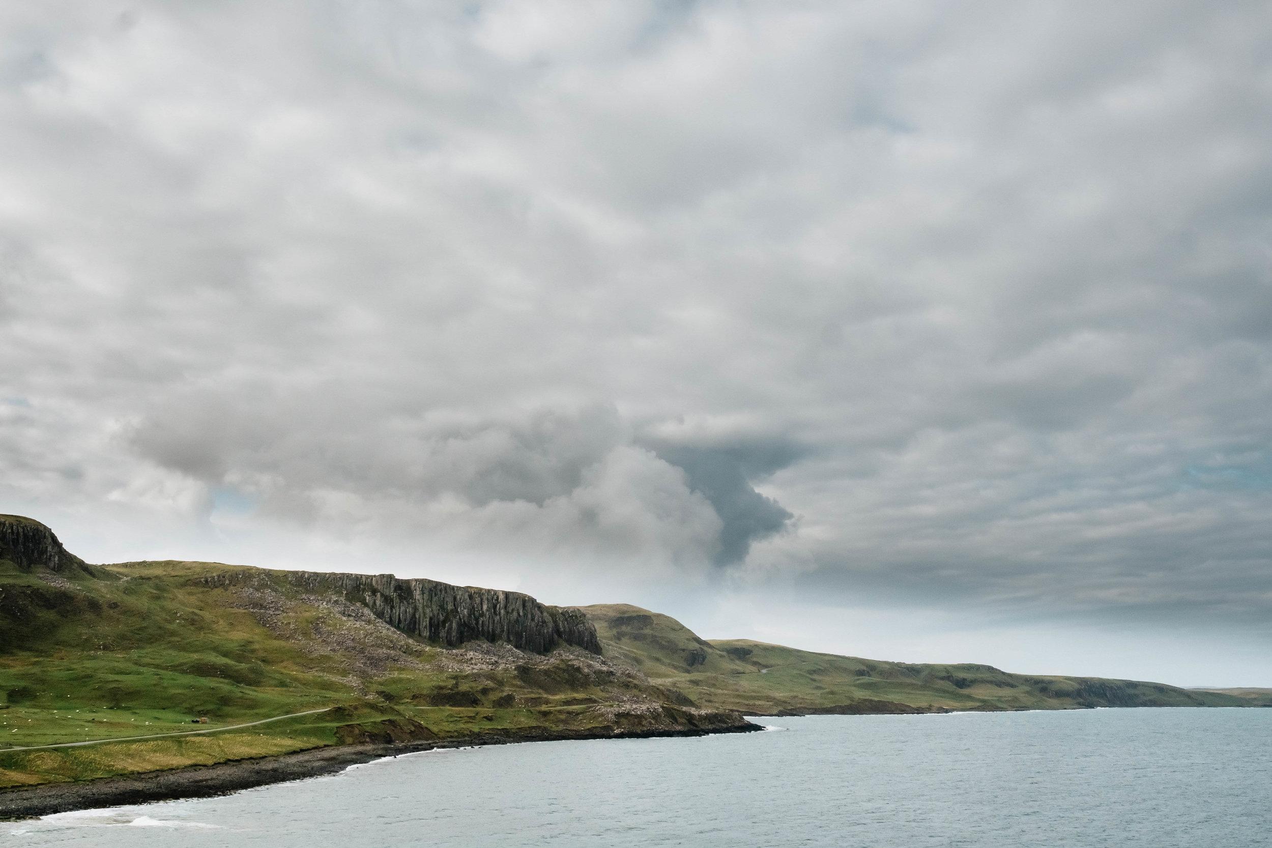 cliffs at sky