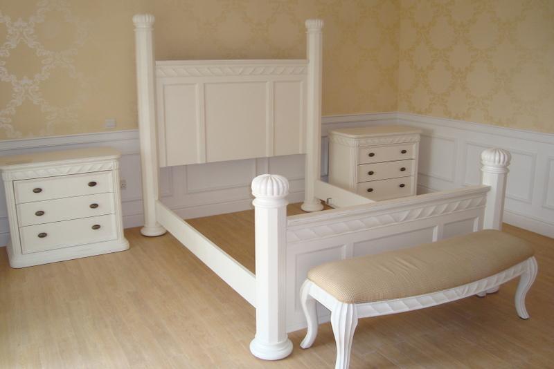 bedroom suite hand painted