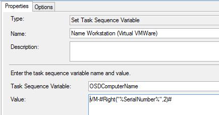Dynamically Set Hostname in SCCM Task Sequence — Dan Letsinger