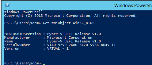 Hyper-V serial numbers are 32 character string with dashes
