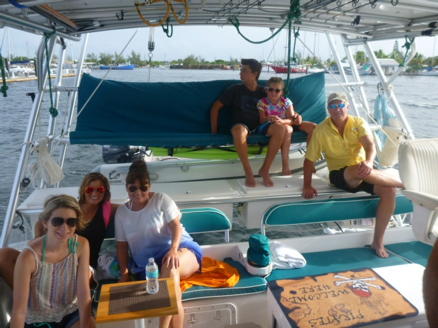 quality family time aboard s/v tortuga