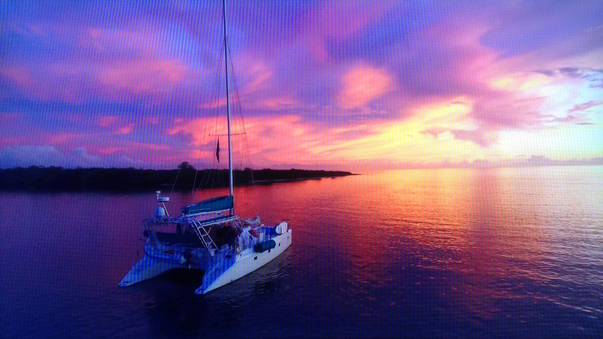 Tortuga Sunset at Boca drone.JPG
