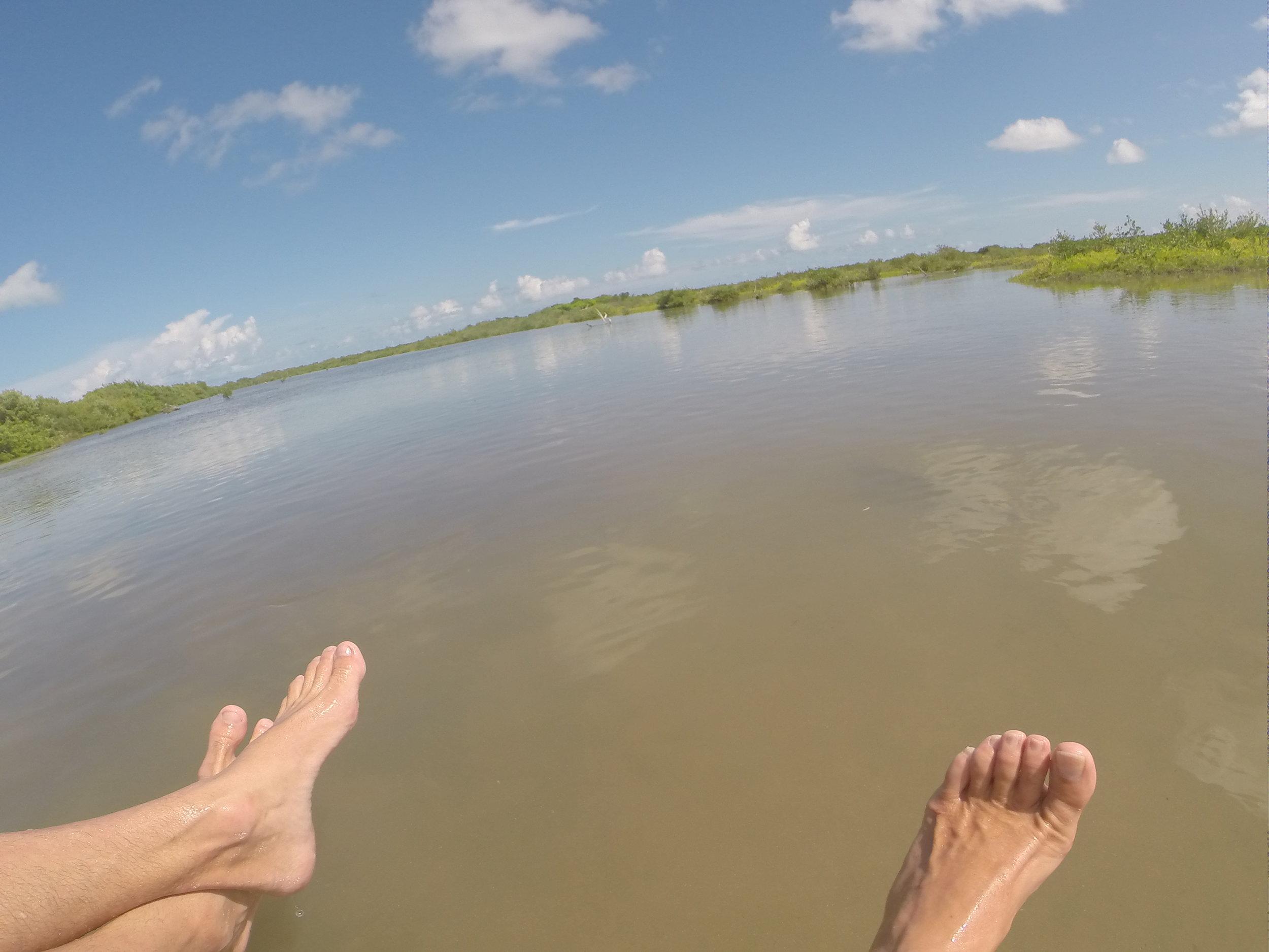No beach just shallows.JPG