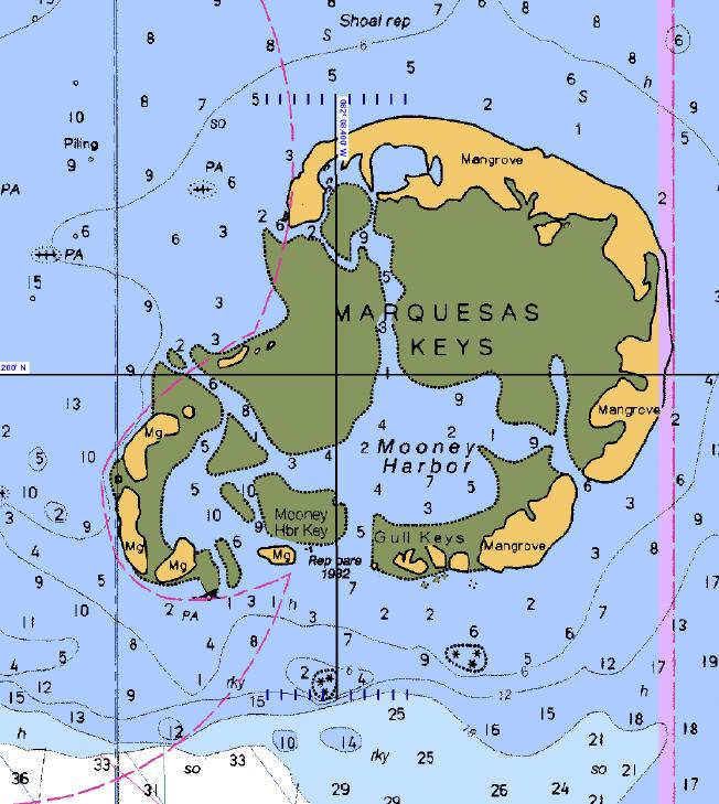Marquesas Key Map