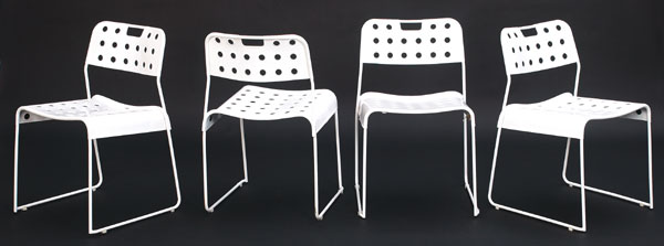OMK stack chairs