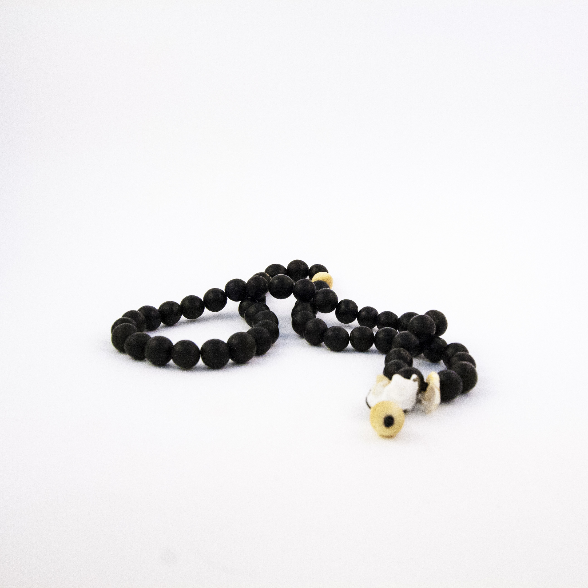 Momotombo Worry Beads - Selected Beads, Seeds and Shell.