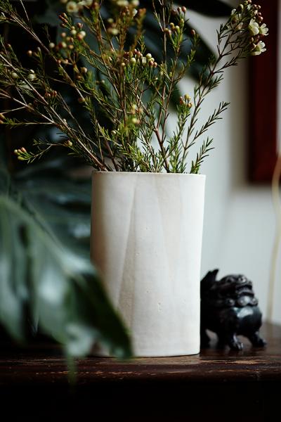 No. White Mountain Bolt Vase
